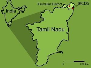 map Tamil Nadu